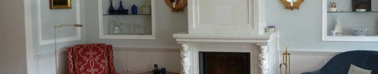Antike Kachelöfen – Gabriele Platt-Banner